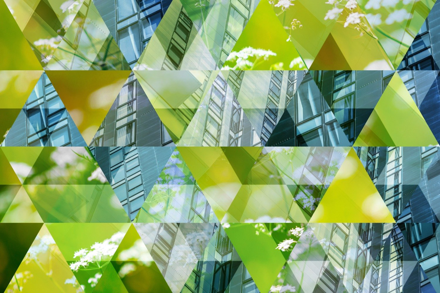 abstract-triangle-mosaic-background-green-architecture-picture-id1124645001